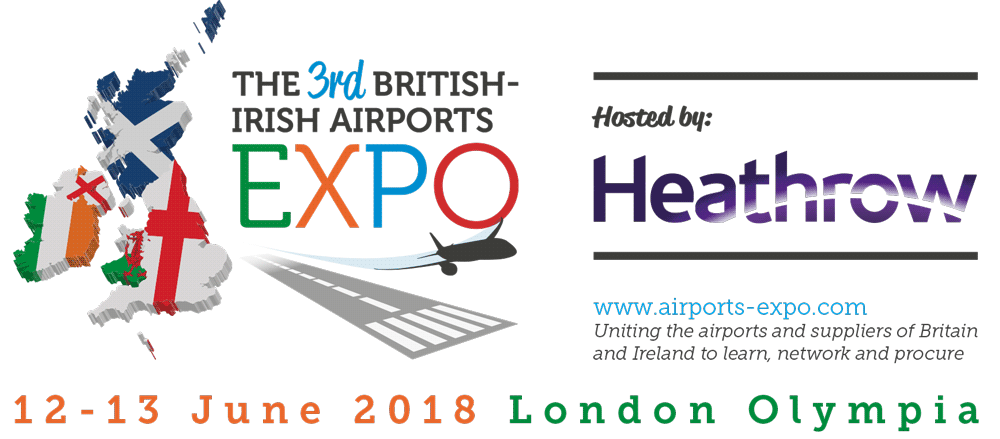 The 3rd BRITISH-IRISH AIRPORTS EXPO 12-13 June LONDON