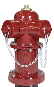 "WaterMaster 5 1/4"" BR fire hydrant design 2-way configuration"