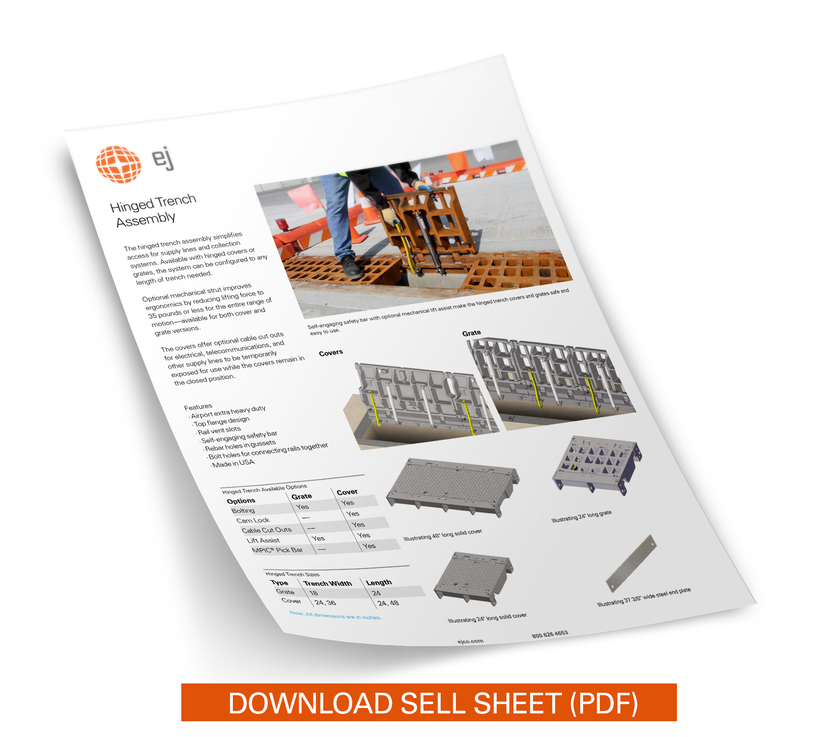 hinged_trench_sell_sheet_onepage_download
